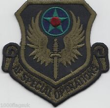 Air Force Special Operations Subdued US Air Force Embroidered Badge Patch