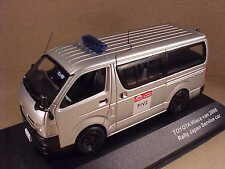J-collection 1/43 Diecast Toyota HiAce, 2008 Rally Japan Services Vehicle #JC218