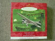 "Mint 2000 Hallmark ""Spirit Of St. Louis"" Ornament; 4th in the Sky's The Limit"