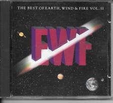CD BEST OF 10 TITRES--EARTH WIND & FIRE--THE BEST OF VOL 2