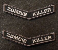 ZOMBIE KILLER TAB OUTBREAK RESPONSE SWAT VELCRO® BRAND FASTENER PATCH SET
