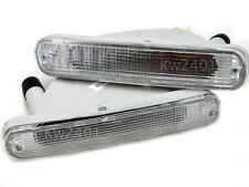 White Front Bumper Light Lamp For Nissan Maxima Cefiro A31 Sedan 1990-1997