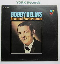 BOBBY HELMS - Greatest Performance - Excellent Con LP Record Certron CS-7003