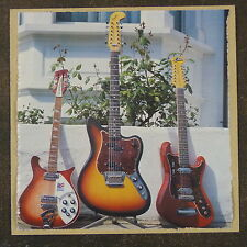 POP-KARD feat. 12 STRING FENDER EKO RICKENBACKER 15x15cm greeting card aaq