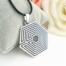 Kpop EXO The Third Album Class Metal Pendant Necklace Fashion Unisex Chains New