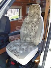 TO FIT A VW TRANSPORTER MOTORHOME, 2005, SEAT COVERS, STARBURST, 2 FRONTS