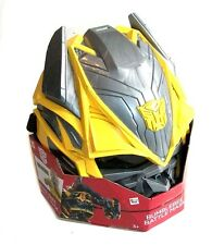 Transformers BUMBLEBEE Hard Plastic Roleplay Costume Mask helmet, halloween