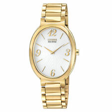 Citizen Ladies Stainless Steel Eco-Drive Solar Power Classic Elegance EX1232-50A