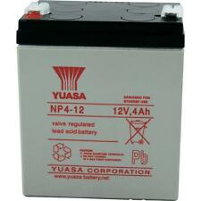 Yuasa 12V 4Ah NP4-12 Battery Replacement for Solex SB1240