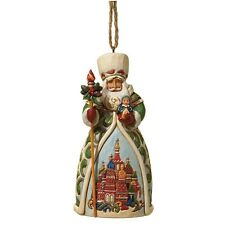 Jim Shore Heartwood Creek Russian Santa Christmas Hanging Ornament 4022942