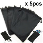 Sun glasses pouch case shades specs bag drawstring wallet phone ear aid jewelery