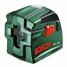 new Bosch PCL 10 Cross Line Laser Level & Tripod  0603008101 3165140471596