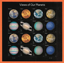 US Views of Our Planets 16 Stamps PSA pane 2016 ~ Ready to Ship