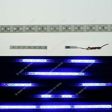 Blue 1FT 12' 30CM 32 Led Knight Rider Strobe Scanner Flexible Strip Light M009