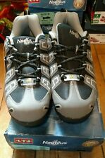 Nautilus Men's Grey Lightweight Athletic Work Shoes Soft Toe N4340 size 11 W