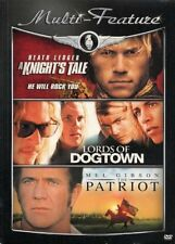 Heath Ledger Multi-Feature Knights Tale,Lords of Dogtown, Patriot (DVD 2009)*New