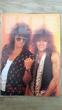 BON JOVI : Jon & Richie in happy times magazine PHOTO / Pin Up  11x8 inches
