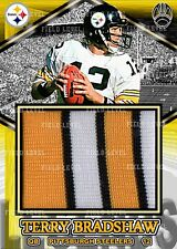 TERRY BRADSHAW PITTSBURGH STEELERS CUSTOM HAND MADE JERSEY PATCH RELIC