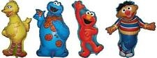 4 x Sesame Street Shaped Foil Balloons - 1 of Each Character