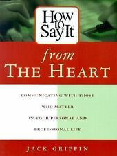 How to Say It from the Heart : Communicating with Those Who Matter Most in...
