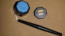 Predator 1080 'Pure'  Pool Cue Chalk 2-Pieces With NEW Special Octagonal Holder