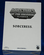 MOTU Masters of the Universe Classics Sorceress MOSC With Mailer GRAYSKULL GUARD