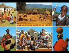 ETHNIQUE (AFRIQUE du SUD) FEMMES ENFANTS GUERRIERS en 1987