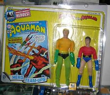 RETRO  8-INCH figure toys hero team-ups aquaman and aqualad limited to 100