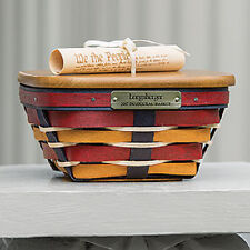 Longaberger 2017 Inaugural Basket Set w/ Constitution Tie-On - ENDS 2/28!!