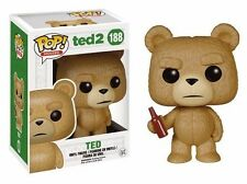 Funko POP! Vinyl Figure Ted2 TED #188 (With Beer Bottle)  FREE FAST SHIPPING