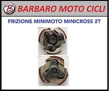 FRIZIONE MINIMOTO 3 MASSE MOTO MINI CROSS MINI QUAD PITBIKE 50 MODELLI CINESI