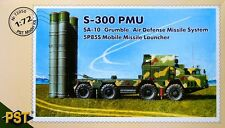 PST 1/72 S-300 PMU SA-10 Grumble Air Defence Missile System 5P85 # 72050