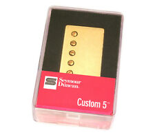 Seymour Duncan SH-14 Custom 5 Gold Cover Humbucker Bridge Pickup 11102-84-Gc