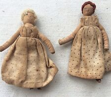 ANTIQUE DOLLS HOUSE MINIATURE ANTIQUE DOLLS,ONLY 6.5cm,RARE ITEMS,ORIGINAL DRESS