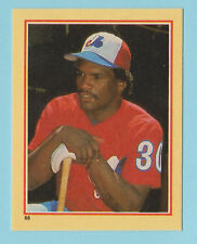1984 Star Stickers Tim Raines Monteal Expos #88 (KCR)