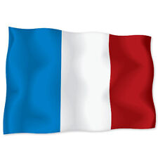 "FRANCE French Flag car bumper sticker decal 6"" x 4"""