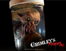 NEW Cthulhu Spawn Embryo HP Lovecraft Specimen in a Jar Latex Prop Horror Alien