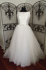 41 MAGGIE SOTTERO MS722 SZ 18 IVORY FORMAL WEDDING GOWN DRESS