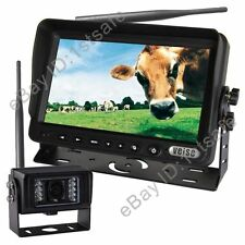 HD 7 INCH DIGITAL WIRELESS REAR VIEW BACKUP CAMERA SYSTEM NO INTERFERENCE