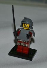 LEGO SERIES 3 SAMURAI WARRIOR # 4 LOOSE FREE SHIPPING