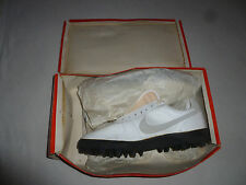 NEW IN BOX VINTAGE 1980S NIKE 3030 SHARK LEATHER MENS SHOES CLEATS SIZE 13 NOS