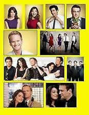 HOW I MET YOUR MOTHER HIMYM TED LILY BARNEY SET OF 10 FLEXIBLE FRIDGE MAGNETS