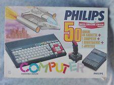 COMPUTER VINTAGE RETRO CONSOLE VIDEOGIOCHI PHILIPS MSX BOXATO BOXED COMPLETO ITA