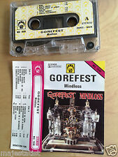GOREFEST - Mindloss MC RARE 1'ST POLISH PRESS 1992