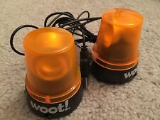 Woot-Off Orange Flashing USB Rotating Lights Geek Hazard Rare
