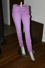 GUESS BY MARCIANO SKINNY JEAN No 61 IN PURPLE COLORED SIZE 25