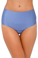 Nancy Ganz Sweeping Curves G string thong shapewear Size XL 16 Colony Blue