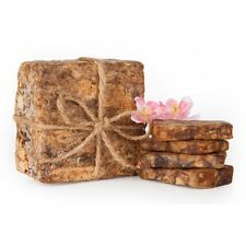 AFRICAN BLACK SOAP ORGANIC UNREFINED PURE RAW 100% NATURAL FROM GHANA 2 LB