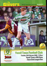 Football Programme - Yeovil Town v MK Dons - League 1 - 2006