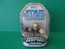 "STAR WARS GALACTIC HEROES SINGLE PACK ""HAN SOLO"" 2.5""IN FIGURE 2008 HASBRO"